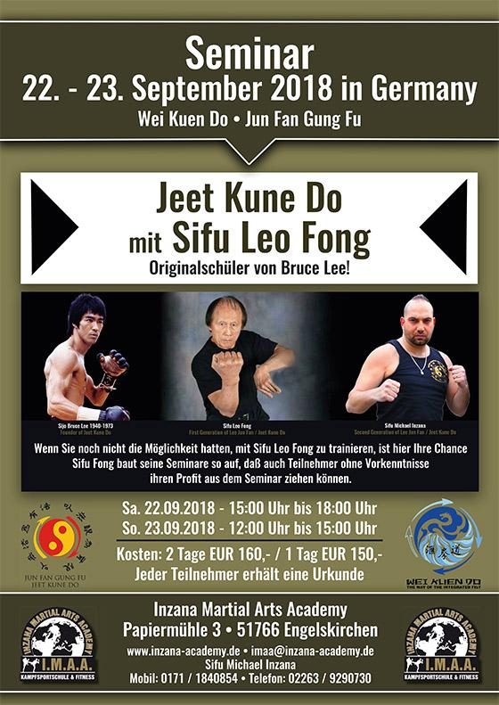 Fong Seminar 2018